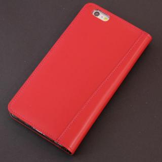 【iPhone6s Plus/6 Plusケース】コードバン手帳型ケース ULTIMO REBONALLY レッド iPhone 6s Plus/6 Plus