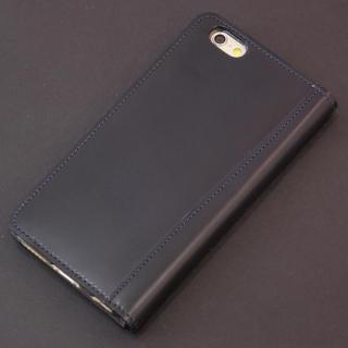 コードバン手帳型ケース ULTIMO REBONALLY ネイビー iPhone 6s Plus/6 Plus