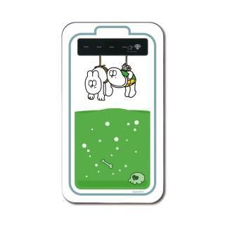 アメヒロ作「ウサギとカメ」のモバイルバッテリー【12月中旬】