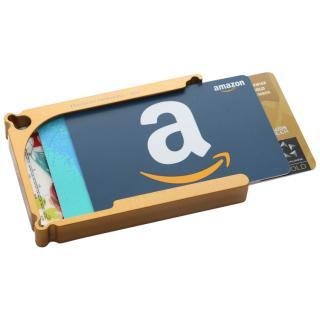 Decadent Minimalist アルミ財布/カードホルダー マネークリップ付属 ゴールド/12カードタイプ