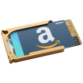 Decadent Minimalist アルミ財布/カードホルダー マネークリップ付属 ゴールド/8カードタイプ