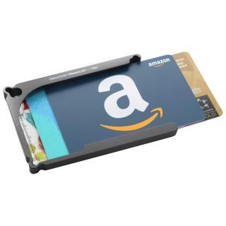 Decadent Minimalist アルミ財布/カードホルダー マネークリップ付属 ガンメタ/4カードタイプ
