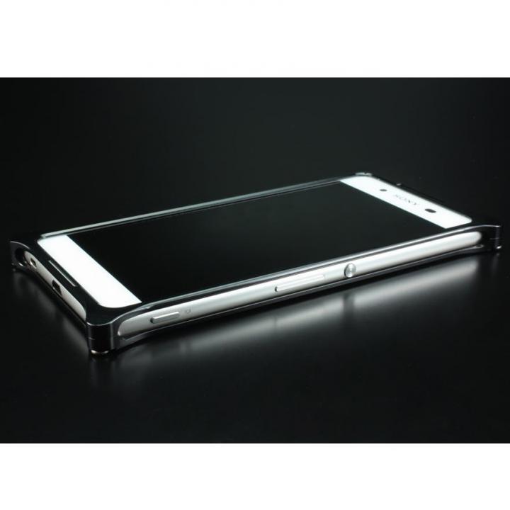 ギルドデザイン ソリッドバンパー ブラック Xperia Z4_0