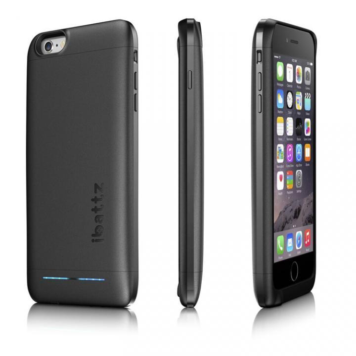 [6000mAh]バッテリー内蔵ケース ibattz リフューエル インビクタス iPhone 6s Plus/6 Plus