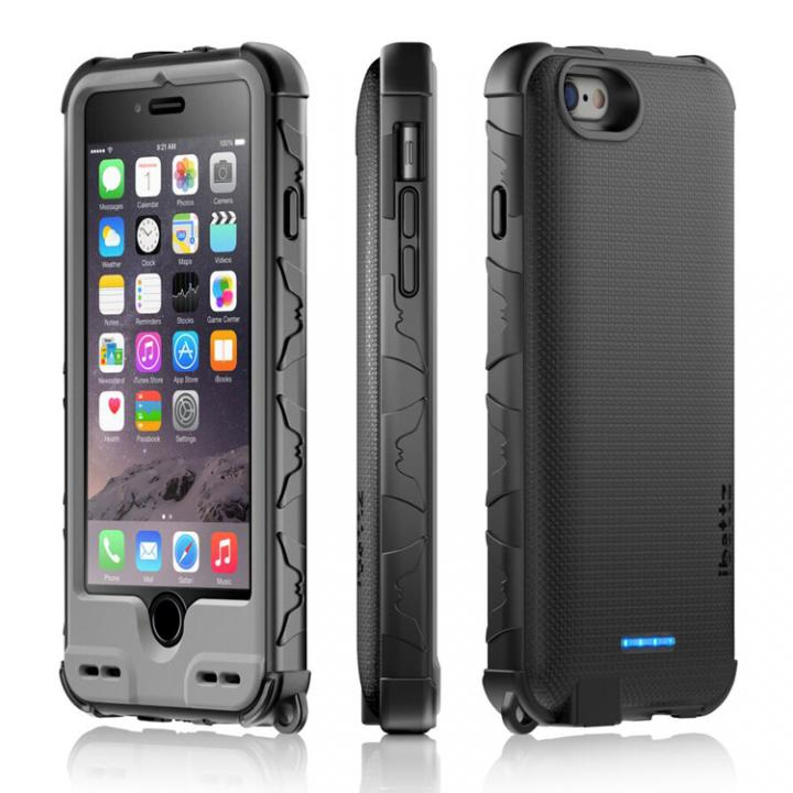 耐衝撃「着せ替え」バッテリー内蔵ケース ibattz リフューエル インビクタス Armor iPhone 6s/6