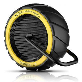 耐衝撃・防滴・防塵 Bluetoothスピーカー CAMPERS 1.0 イエロー