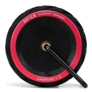 耐衝撃・防滴・防塵 Bluetoothスピーカー CAMPERS 1.0 レッド