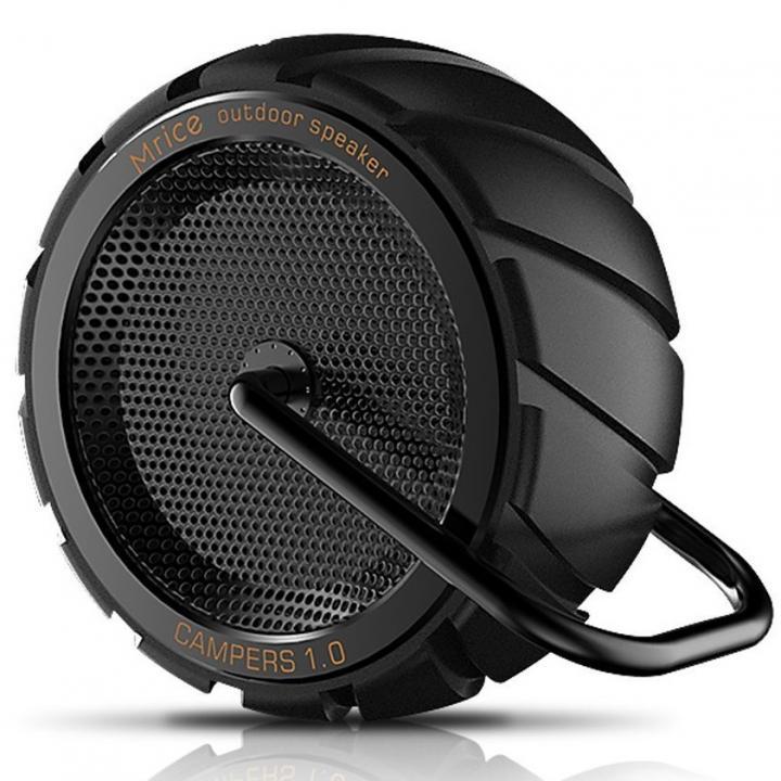 耐衝撃・防滴・防塵 Bluetoothスピーカー CAMPERS 1.0 ブラック_0