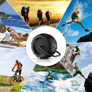 耐衝撃・防滴・防塵 Bluetoothスピーカー CAMPERS 1.0 ブラック_6