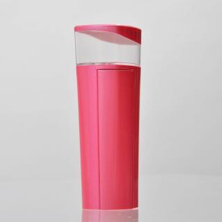 [2200mAh]持って歩けるハンディミスト付きモバイルバッテリー ピンク