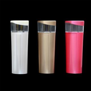 [2200mAh]持って歩けるハンディミスト付きモバイルバッテリー ピンク_4