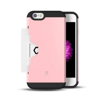 Golf Fit カード収納機能付きケース ピンク iPhone 6ケース