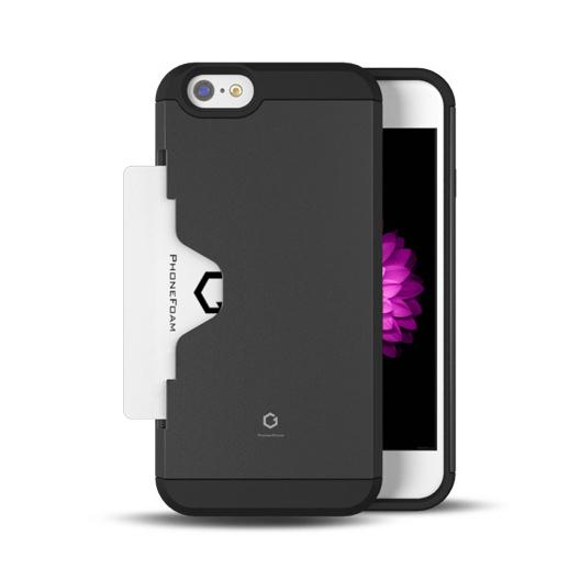 【iPhone6ケース】Golf Fit カード収納機能付きケース ダークシルバー iPhone 6ケース_0