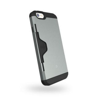 【iPhone6ケース】Golf Fit カード収納機能付きケース ダークシルバー iPhone 6ケース_1