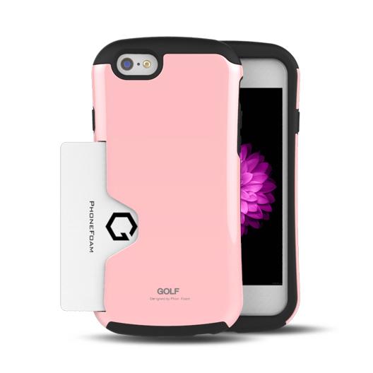 【iPhone6ケース】Golf Original カード収納機能付きケース ピンク iPhone 6ケース_0