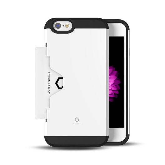 【iPhone6ケース】Golf Fit カード収納機能付きケース ホワイト iPhone 6ケース_0