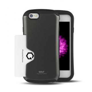 Golf Original カード収納機能付きケース ダークシルバー iPhone 6ケース