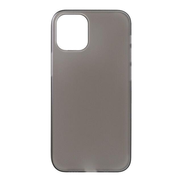 パワーサポート エアージャケット スモークマット iPhone 12 mini_0