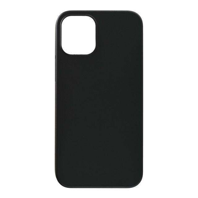 パワーサポート エアージャケット ラバーブラック iPhone 12 mini_0