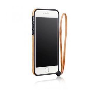 ストラップ一体型軽量バンパー オレンジ iPhone 6バンパー