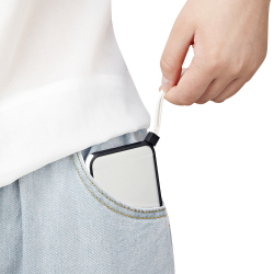 【iPhone6ケース】ストラップ一体型軽量バンパー ブラック iPhone 6バンパー_4