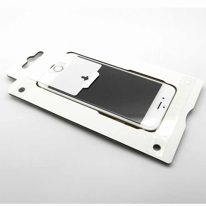 [0.20mm]綺麗に貼れるキット付き強化ガラス iPhone 6