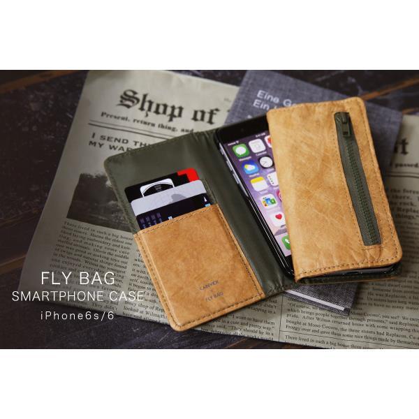 超軽量手帳型ケース flybag iPhone 6s/6