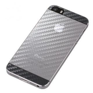 衝撃吸収デザインフィルム全面タイプ  iPhone SE/5s/5 カーボン