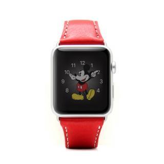Apple Watch 牛革バンド  D6 IMBL レッド 38mm用【6月上旬】