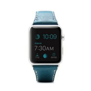 Apple Watch 牛革バンド  D6 IMBL グリーン 38mm用【7月下旬】