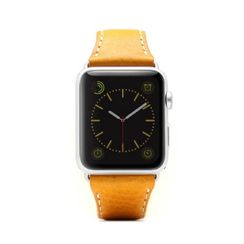 Apple Watch 牛革バンド  D6 IMBL タンブラウン 38mm用_0