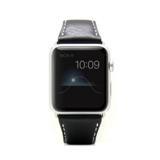 Apple Watch 牛革バンド  D6 IMBL ブラック 38mm用【7月下旬】