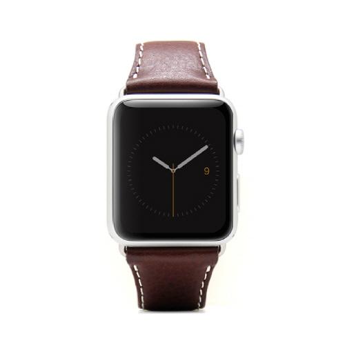 Apple Watch 牛革バンド  D6 IMBL チョコ 38mm用_0