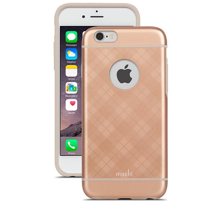 moshi iGlaze ハードケース タータンローズ iPhone 6s/6