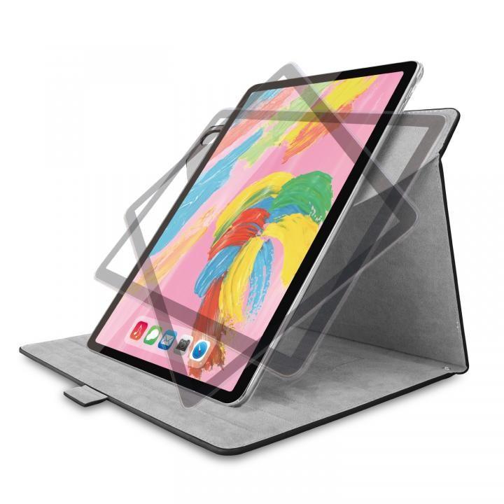 エレコム フラップカバー ソフトレザー 360度回転 ブラック iPad Pro 2018 11インチ_0