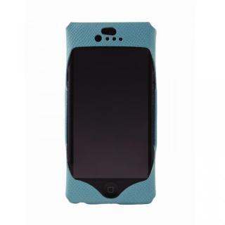 【iPhone SE/5s/5ケース】iPhone SE/5s/5 Wear calf blue