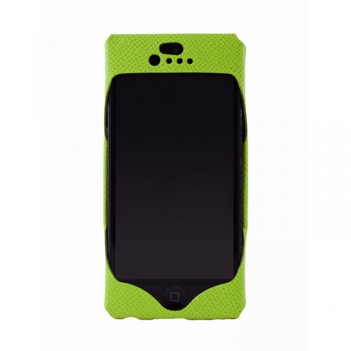 【iPhone SE/5s/5ケース】iPhone SE/5s/5 Wear calf green_0