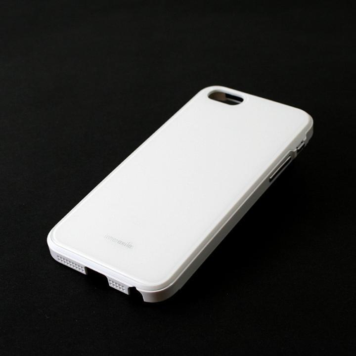 高級感のあるデザイン InnerExile Chevalier  iPhone SE/5s/5 ホワイト