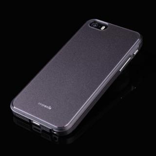 高級感のあるデザイン InnerExile Chevalier  iPhone SE/5s/5 ダークグレー