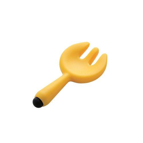 スマートフォン用タッチペン/キッチン用/フォーク/オレンジ_0
