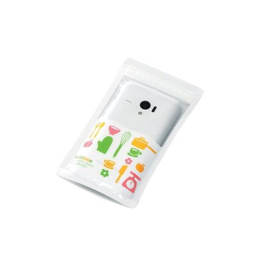 スマートフォン用防滴ケース/キッチン用/4インチ対応_0