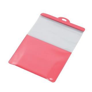 スマートフォン用防滴スタンドケース/キッチン用/10インチ対応/ピンク