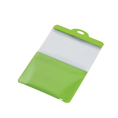 スマートフォン用防滴スタンドケース/キッチン用/7インチ対応/グリーン