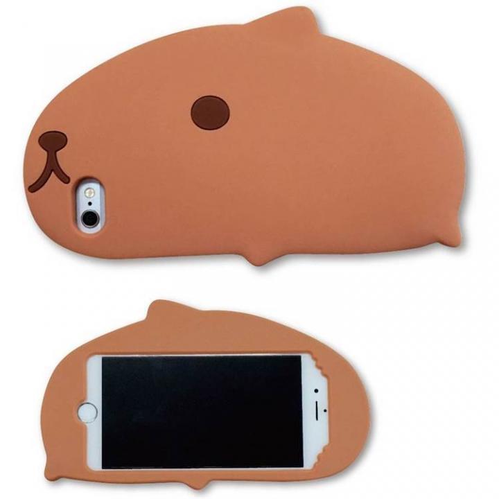 カピバラさん ダイカットシリコンケース iPhone 6s/6ケース
