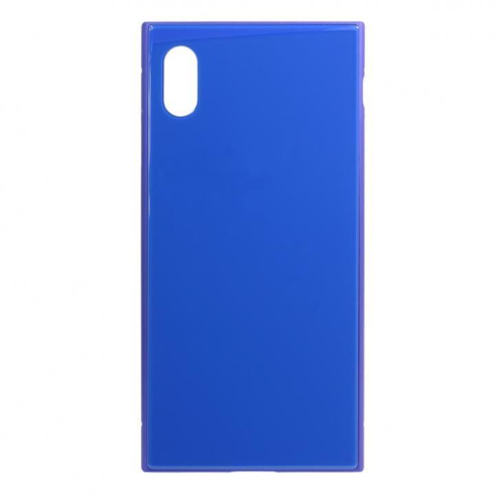 iPhone XS Max ケース SQUBE PREMIUM CASE 背面ケース ブルー iPhone XS Max_0