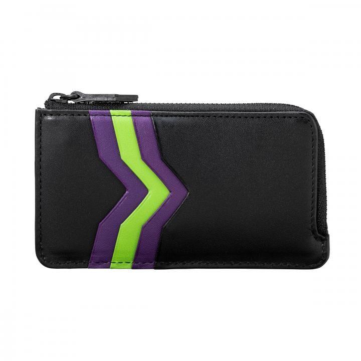 GRAMAS × EVANGELION Flat zip Wallet_0