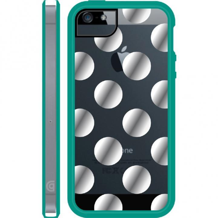 iPhone SE/5s/5 ケース Separates DotsAll Folks iPhone SE/5s/5 Thyme-CLR SLV BIL_0
