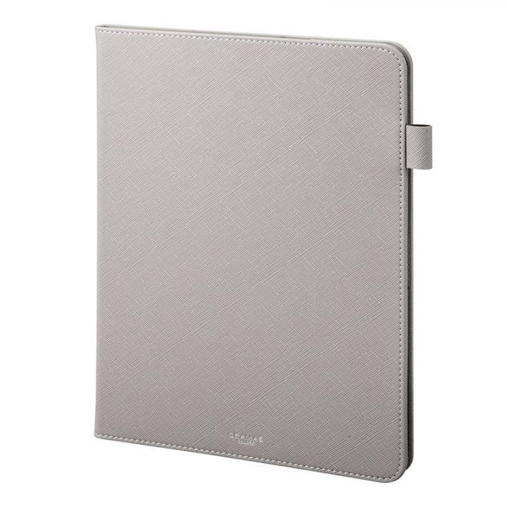 GRAMAS COLORS EURO Passione Book PUレザーケース グレー iPad Pro 2018 11インチ_0