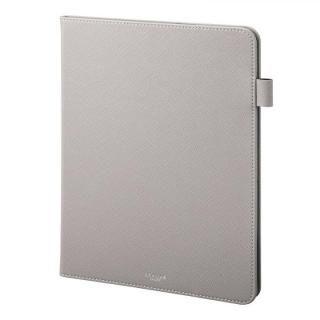 GRAMAS COLORS EURO Passione Book PUレザーケース グレー iPad Pro 2018 11インチ
