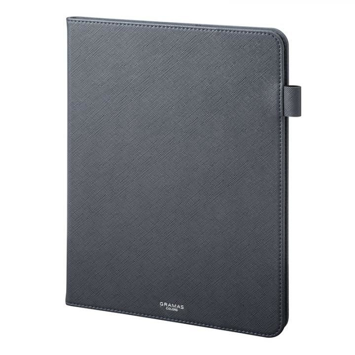 GRAMAS COLORS EURO Passione Book PUレザーケース ネイビー iPad Pro 2018 11インチ_0